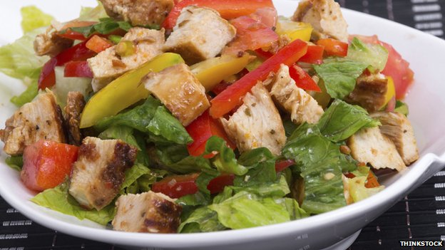 chicken salad - any diet will work